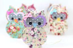 Owl nursery wall art decoration purple owl ornament by PrettymShop, $18.00