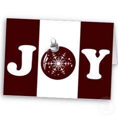 #red Joy #ornament   #holidays #christmas #greetings #elegant #festive by #mgdezigns