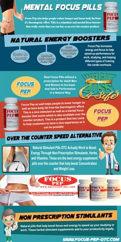 Visit this site http://www.focus-pep-otc.com for more information on mental Focus Pills. The use of brain supplements is becoming more and more popular among ambitious adults. These nootropics can supplement the mental performance of healthy adults. Focus pills can also boost brain power by increasing levels of neurotransmitters. Therefore it is important that you choose for the best mental Focus Pills. Follow Us : http://focuspep.blogspot.com