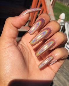 holographic  | follow @nyshlamua for more pinspirations ✨
