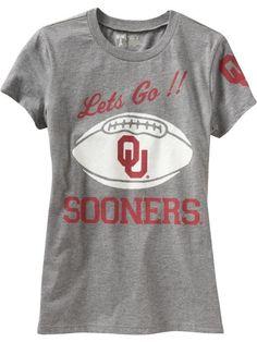Oklahoma OU sooners shirt old navy gameday football sooner-proud