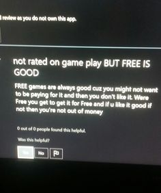 This guy knows how to review games.