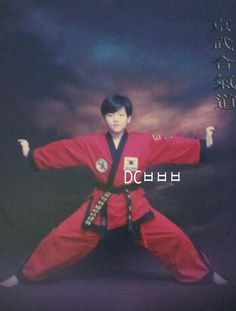 IN OTHER IMPORTANT NEWS: BAEKHYUN AND I HAVE THE BLACK BELT IN COMMON