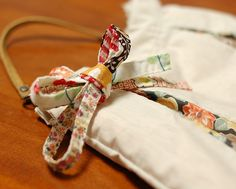 How to make a patchwork string by mairuru #sewing #fabric_scrap