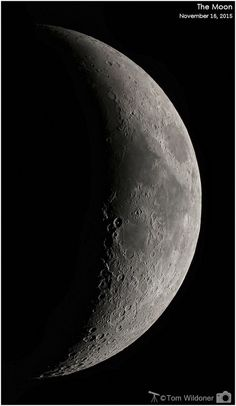 By Tom Wildoner Crescent Moon