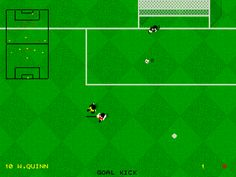 Kick off 2 - Commodore 64. Best Sport game ever.
