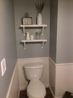 Γγρ│ Gris et taupe, deux couleurs neutres et raffinées pour ce WC ...