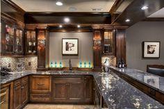 Titanium granite bar