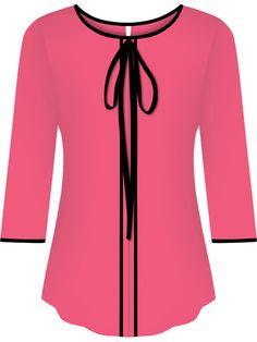 Fashion Terms, 50 Fashion, Kids Fashion, Girls Fashion Clothes, Fashion Dresses, Sewing Blouses, Kurti Neck Designs, 50 Style, Black Evening Dresses