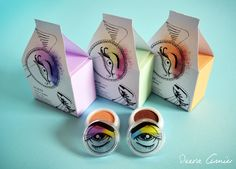 My makeup packaging design for Almay cosmetics