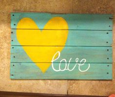 $25 Pallet Wood Sign LOVE divinedesignsbytiania@gmail.com https://www.facebook.com/divinedesignsbytiania