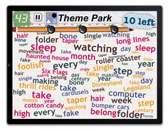 Find 10 things in the category: Theme Park