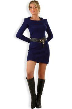Abbigliamento da Donna  http://www.abbigliamentodadonna.it/vestito-caldo-moda-inverno-p-1061.html Cod.Art.001101 - Vestito caldo moda inverno a manica lunga da donna, un abito dalla linea semplice e sobria, irresistibilmente fashion, perfetto in tutte le occasioni, al lavoro o nel tempo libero