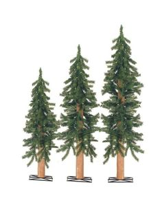 3-, 4- and 5-ft. Pre-lit Alpine...