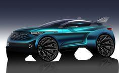 RangeRover SUV Concept Design by Boris Wang at Coroflot.com