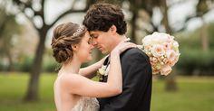 Romantic Bride and Groom Portraits Garten Verein Wedding