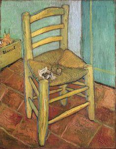 'Van Gogh's Chair' by Vincent van Gogh (1888)