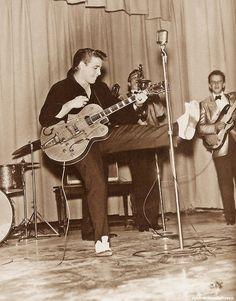 Eddie Cochran performs in Chadron, Nebraska  October 3, 1959