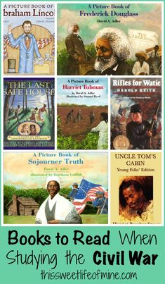 Books to read when studying the Civil War | thissweetlifeofmine.com