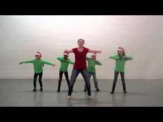 "Kids can express their inner ""elves,"" thanks to the dance moves demonstrated in this video by Plank Road Publishing Choreographer Melissa Schott."