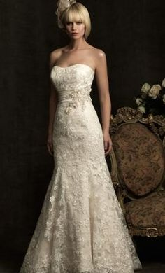 Allure Bridals 8917 18: buy this dress for a fraction of the salon price on PreOwnedWeddingDresses.com