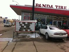 Thanks for these Panda Tire! LOL Panda, Broadway Shows, Thankful, Healing, Lol, City, Laughing So Hard, Pandas, Panda Bear