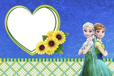 Montando minha festa: Frozen fever - Febre congelante Frozen Fever Party, Frozen Birthday Party, Frozen Theme Party, 3rd Birthday Parties, 2nd Birthday, Frozen Disney, Elsa Frozen, Frozen Cards, Frozen Princess