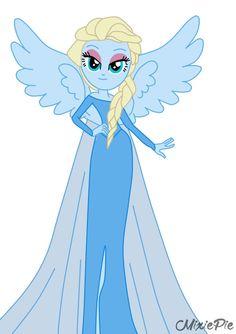 Elsa [from Frozen] in Equestria Girls by MixiePie on deviantART