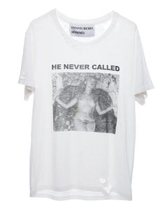 HE NEVER CALLED T-SHIRT