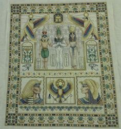 Egyptian Sampler by Teresa Wentzler (cross stitch) - took me over three years to finish, but it's gorgeous!