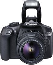 Canon Eos 1300D kit 18-55 IS II + Battery pack.Fotocamera reflex.