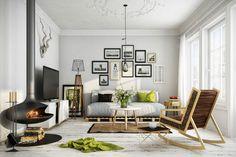 Sade, Doğal ve Şık İskandinav Stili Dekorasyon