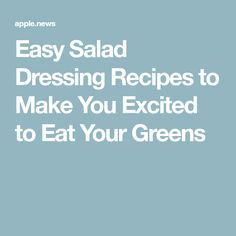 Easy Salad Dressing Recipes to Make You Excited to Eat Your Greens Easy Greek Salad Recipe, Greek Salad Recipes, Salad Dressing Recipes, Salad Dressings, Healthy Sauces, Healthy Recipes, Seafood Recipes, Cooking Recipes, Vinaigrette