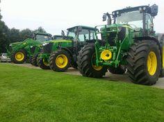 Vervaet/Stehouwer - Agri-Machines heeft ze al binnen, de nieuwe serie trekkers van John Deere