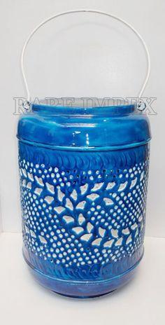Ocean Blue T-light Lnatern
