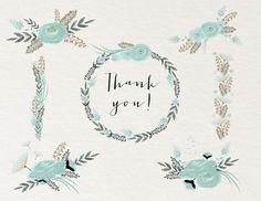 Blue Flowers - Illustrations - 2