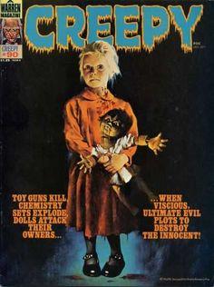 Doll - Warren Magazine - Black Mary Janes - Dolls Attack - Ultimate Evil Plots
