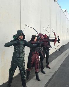 The 4 archers Flash And Arrow, The Flash, Arrow Cw, Team Arrow, Arsenal Arrow, Supergirl Superman, Supergirl And Flash, Oliver Queen Arrow, Dc Comics