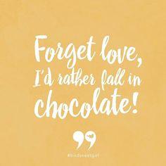 Repin if you're a serious chocolate lover! #birdsnestgirl