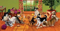 We carry a full line of Sunsout Jigsaw Puzzles including: Tug of War 500 pieces Jigsaw Puzzle art by Higgins Bond, Proudly Made in The USA Free Online Jigsaw Puzzles, 500 Piece Jigsaw Puzzles, Tug Of War, War Dogs, Puppy Pictures, Puppy Pics, Dog Paintings, Puzzle Art, Dog Art