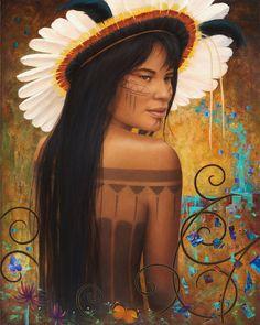 sharon irla paintings   Save Xingu Painting by Sharon Irla - Save Xingu Fine Art Prints and ...