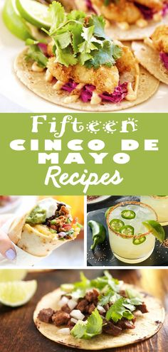 Excited for Cinco de Mayo, but not sure what to make? From cocktails to tacos, we've rounded up 15 of our favorite Mexican inspired recipes that will be sure to make your celebration fantastico! Get the recipes now! Mexican Menu, Mexican Dishes, Mexican Food Recipes, Ethnic Recipes, Holiday Recipes, Great Recipes, Corn In The Oven, Great Appetizers, Soul Food