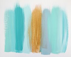 Turquoise and gold - a fave colour combination