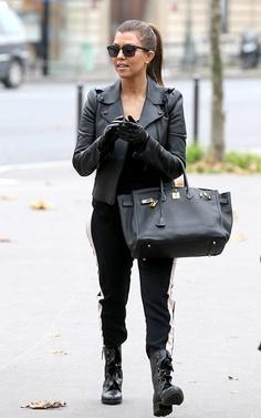 Kourtney Kardashian Style - Leather Look Wearing All Black, All Black Outfit, Kardashian Style, Kourtney Kardashian, Kardashian Fashion, Kardashian Family, Her Style, Autumn Winter Fashion, What To Wear