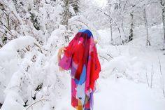Love love these textiles by Shilo Engelbrecht... Älv Silk   http://www.shilo.net.au/