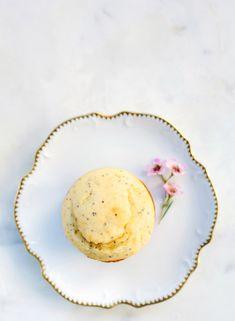 Lemon poppyseed muffins #vegan #glutenfree