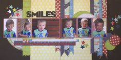 Page Layout, Layouts, Basson, Scrapbook Pages, Scrapbooking, Sketches, Boys, Frame, Fun