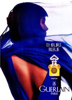 Guerlain L'Heure Bleue: the magic spell of the blue hour Pink Perfume, Best Perfume, Vintage Perfume, Perfume Bottles, Parfum Guerlain, Guerlain Paris, Perfume Adverts, Popular Perfumes, Perfume Reviews