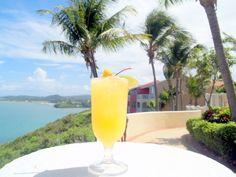 While at El Conquistador Resort & Las Casitas Village make sure to enjoy a refreshing Citrus #Rum Cooler made with Puerto Rican rum.   ElConResort.com