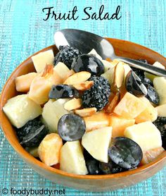 Fresh Fruit Salad with Yogurt Honey Dressing is a simple to make, healthy and refreshing salad. You can serve this salad for breakfast or as evening snack. Fruit Salad With Yogurt, Fresh Fruit Salad, Fruit Salads, Blackberry Salad, Honey Dressing, Breakfast Salad, Evening Snacks, Cooking Recipes, Blackberries